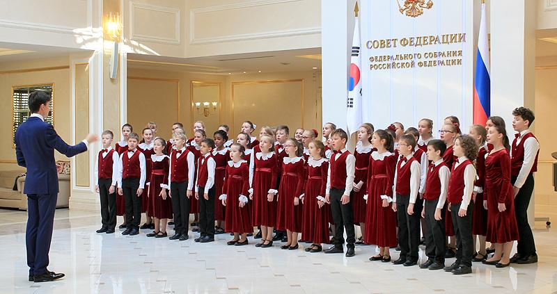 Группа БДХ выступает в Совете Федерации. 2019 год.